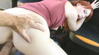 Alex Harper in 'Hairy redhead pussy cum splattered'