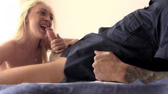 Amber Deen in 'Blonde fucks as her boyfriend stays home'