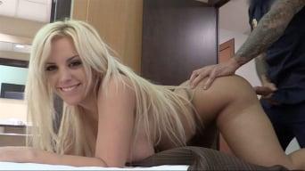 Blondie Fesser in 'Policeman fucks big booty latina'