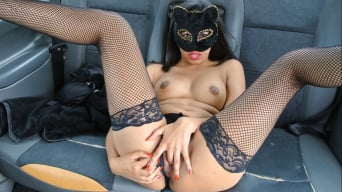 Masked Maya in 'Role play pussy cat fantasy fuck'
