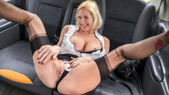 Molly Milf in 'Older lady's big pussy lips opened'