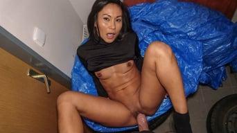 Suzie Q in 'Hot Thai in gas station toilet fuck'